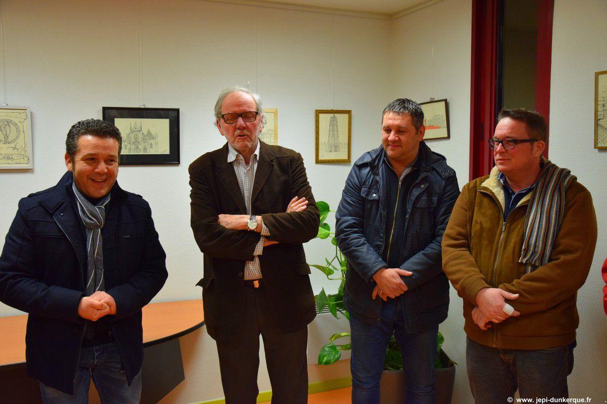 Regards sur Dunkerque : Exposition de Valente MAURO à Saint Pol sur Mer .