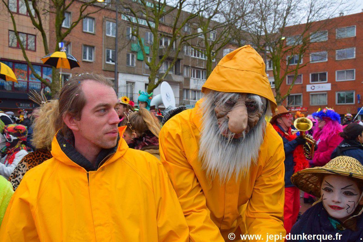 Carnaval de Dunkerque 2017 - l'Avant Bande .