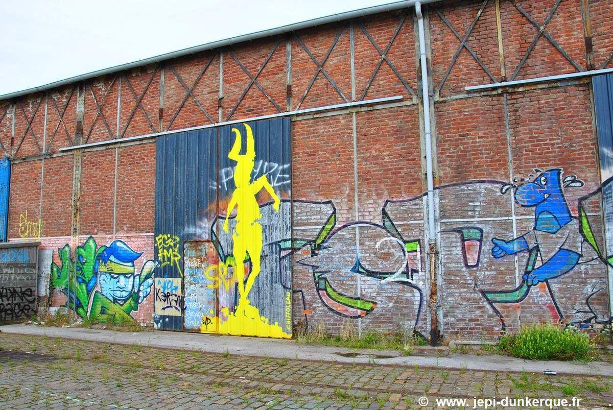 Balade à vélo - Dunkerque - Août 2017 .