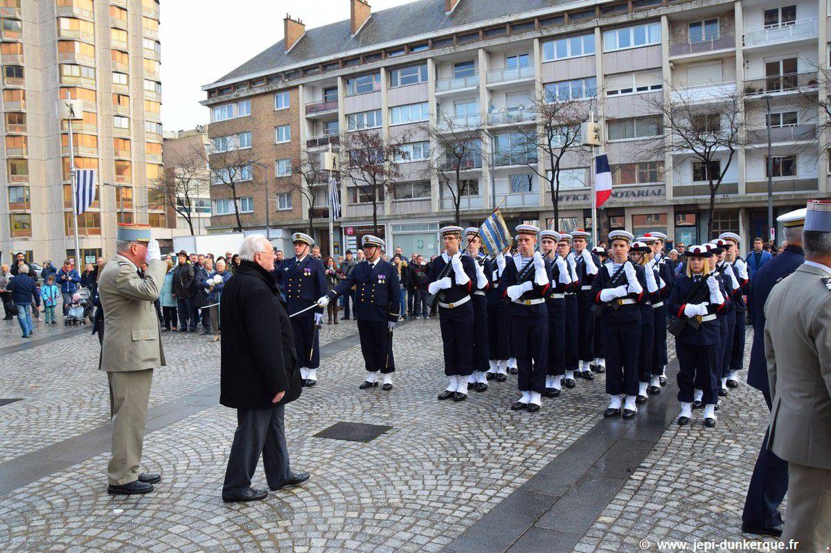 Cérémonie du 11 Novembre-Dunkerque 2017