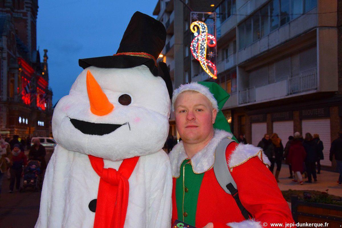 Parade de Noël-Dunkerque 2017