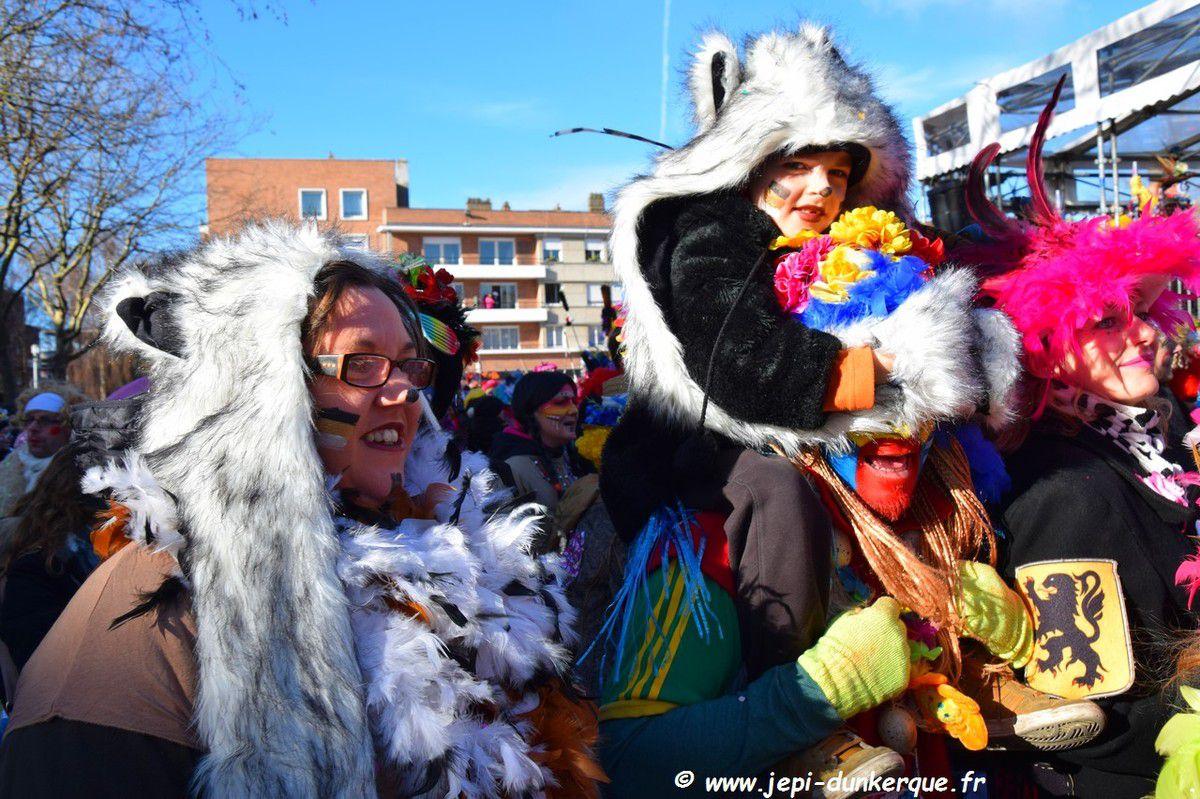 Carnaval de Dunkerque 2018 l'Avant Bande .
