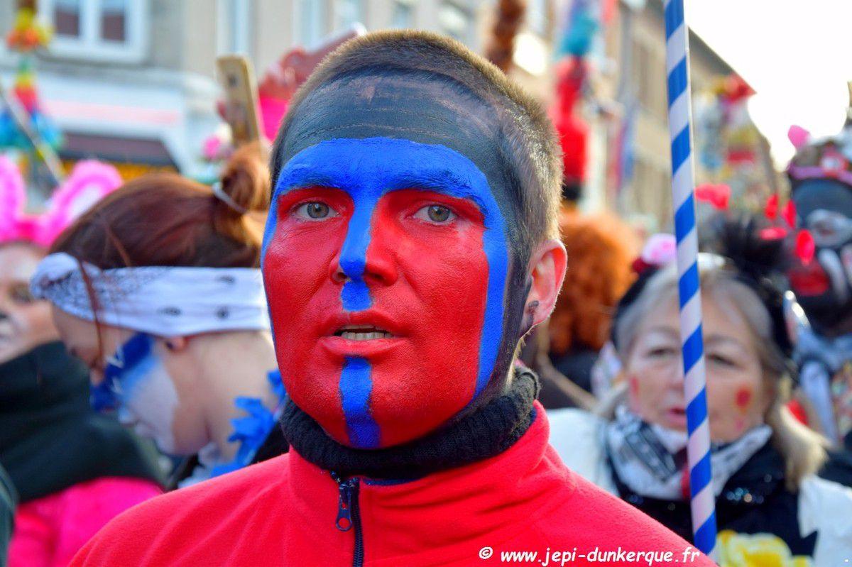 Carnaval de Dunkerque 2018 La Bande de la Citadelle