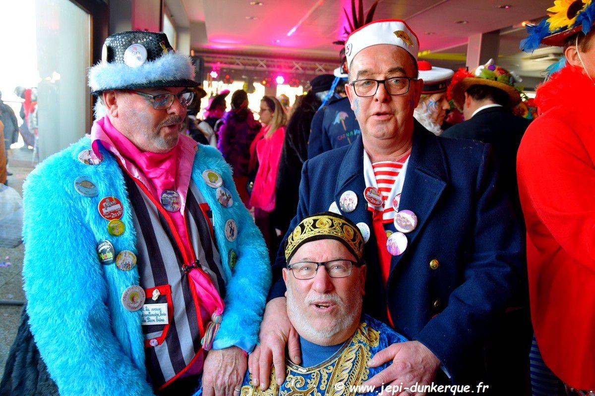 Carnaval de Dunkerque 2018 - Bande de Malo les Bains - Chapelle à Dom .