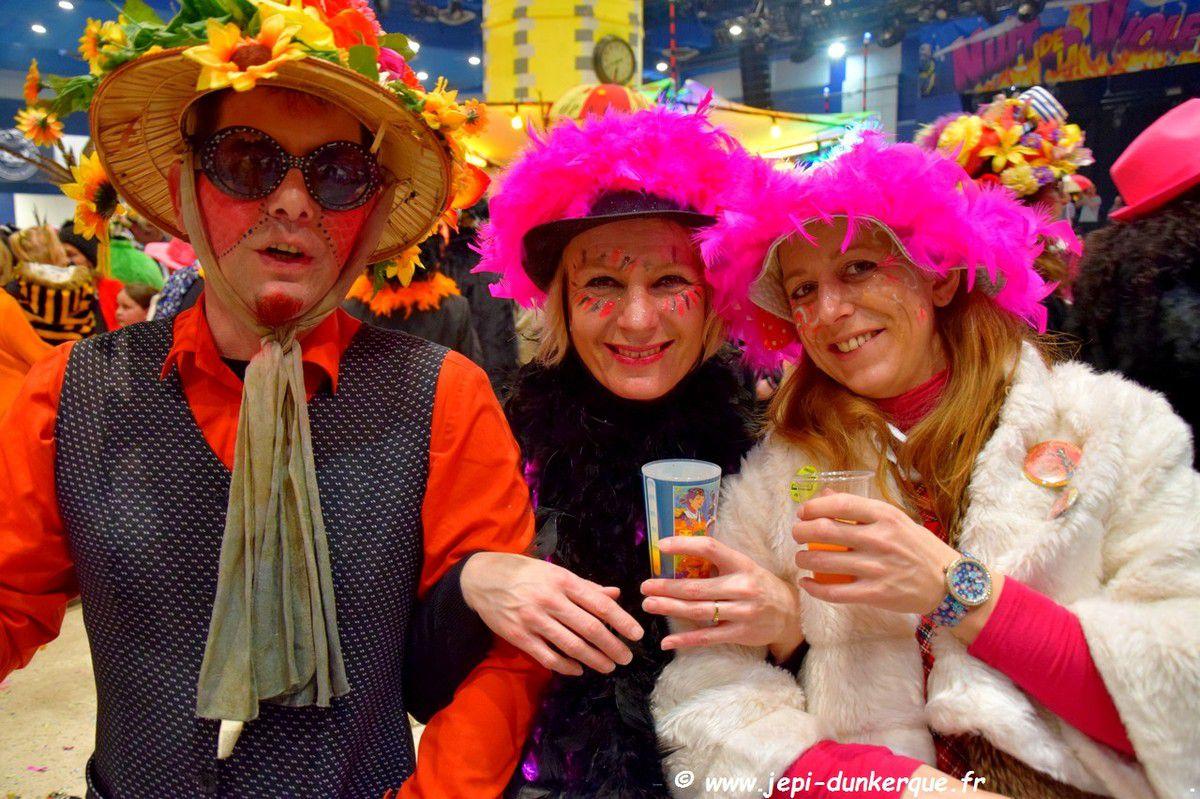 Carnaval de Dunkerque 2018 - La Bande de Malo les Bains - Chapelle des Pompiers .