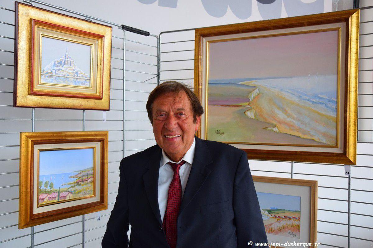 Exposition Gérard Deligny-Coudekerque/Branche Mai  2018 .
