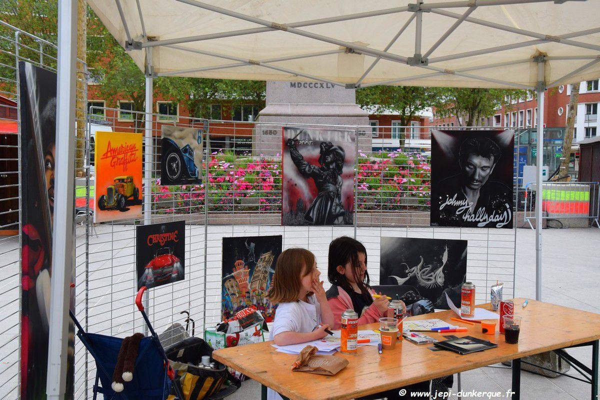 Animations Place Jean Bart - Les Métiers d'Art - Dunkerque 2018
