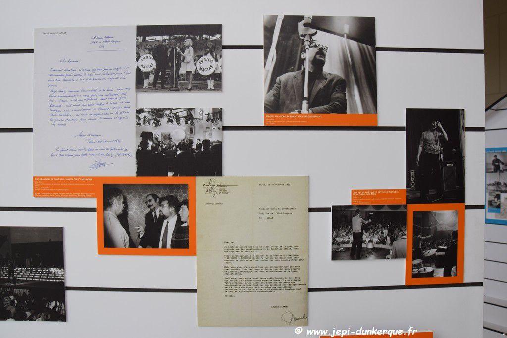 Exposition :  Mi j'suis pas chanteur, j'suis photographe - Raoul de Godewarsvelde-Dunkerque/Malo les Bains 2018