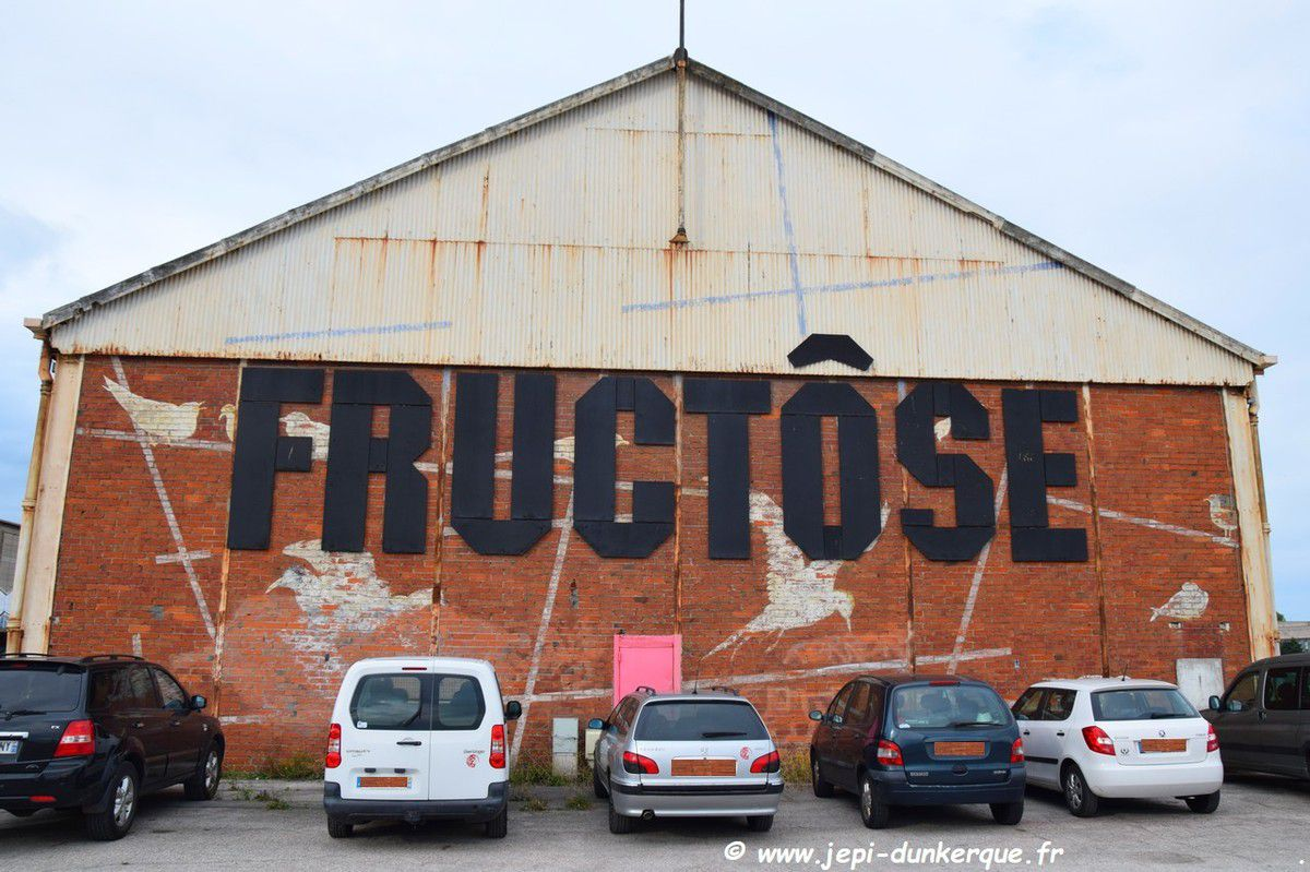 FRUCTÔSE.  Le F TOUR - Inauguration - Dunkerque Septembre 2018