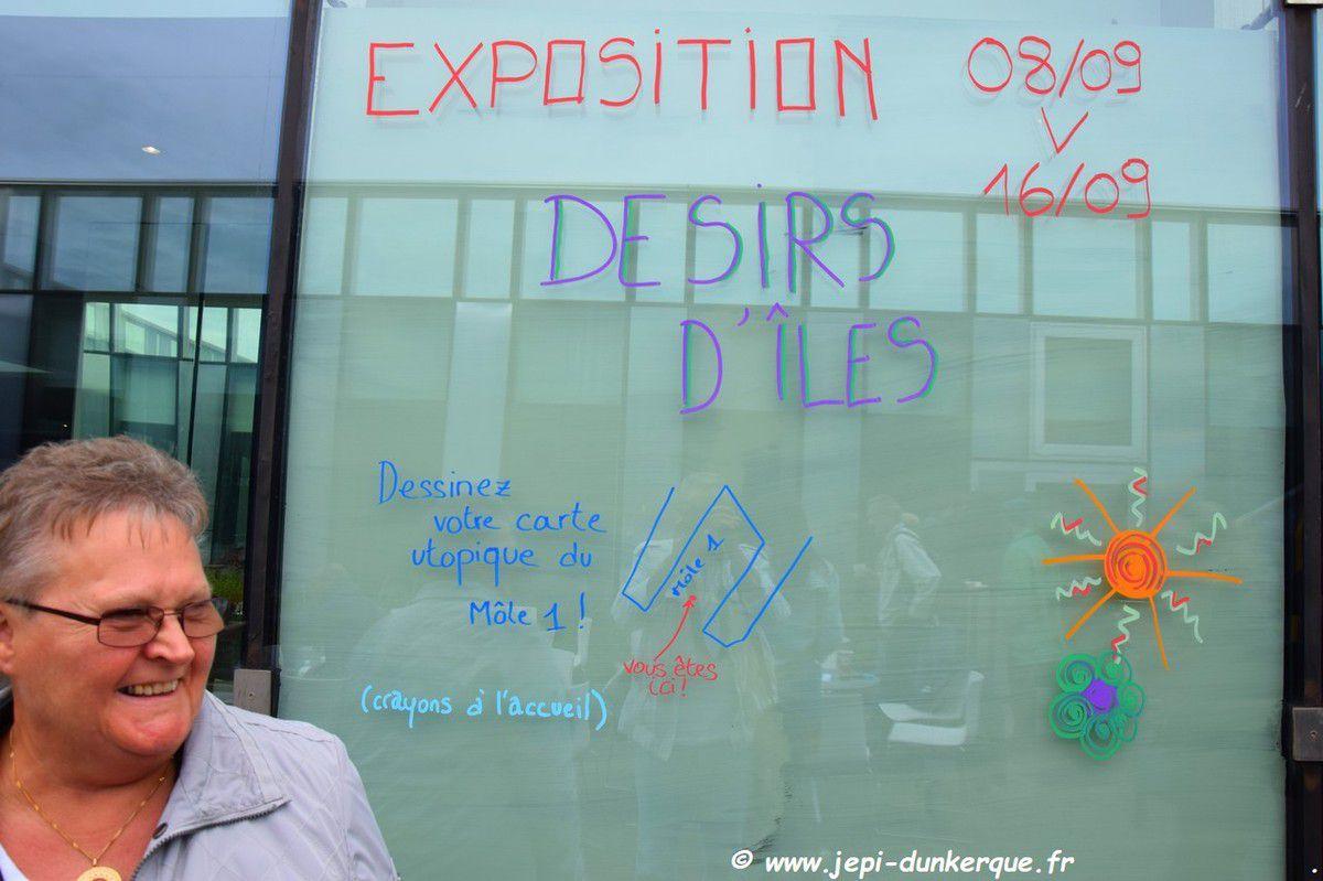 Vernissage de l'exposition Désirs d'Îles - Dunkerque Septembre 2018