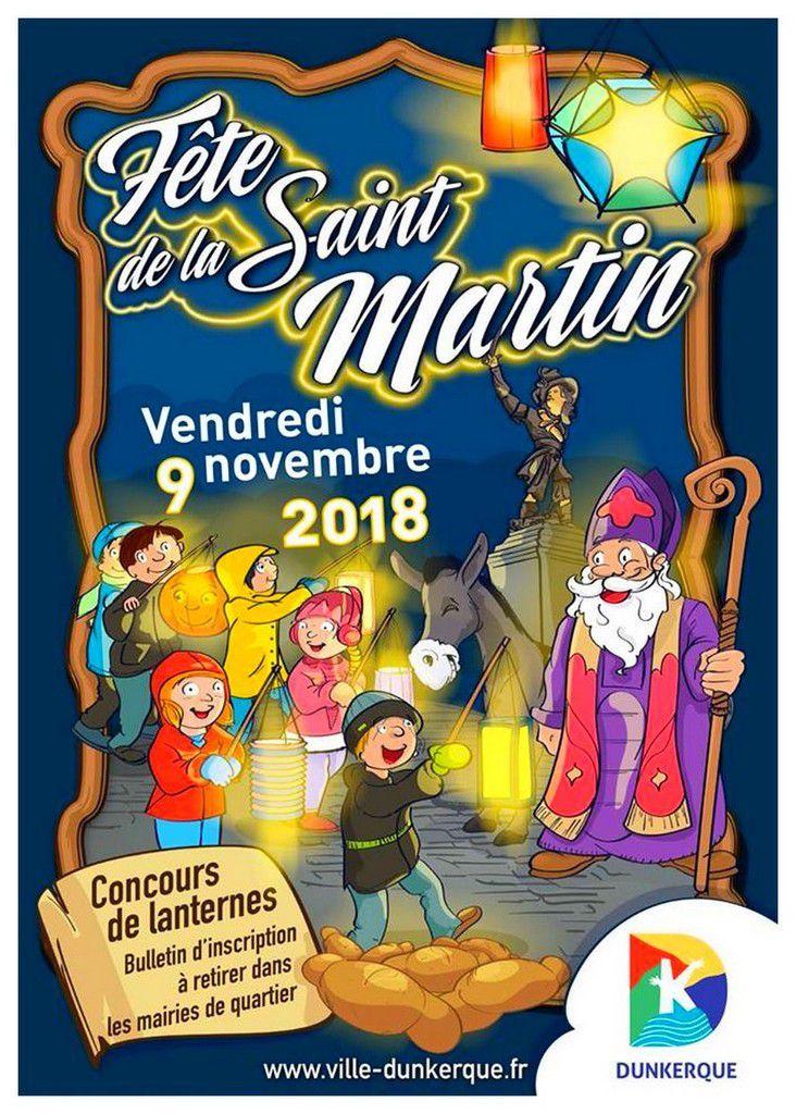 Fête de la Saint-Martin Dunkerque 2018 (Les itinéraires )