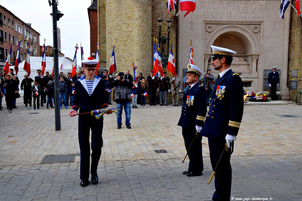 Cérémonie du 11 Novembre 2018 à Dunkerque