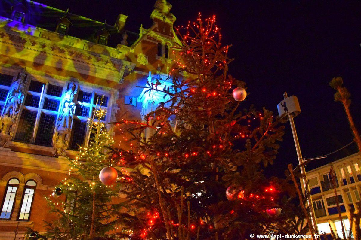 Noël 2018 à Dunkerque ( 1 ère partie ) La forêt enchantée