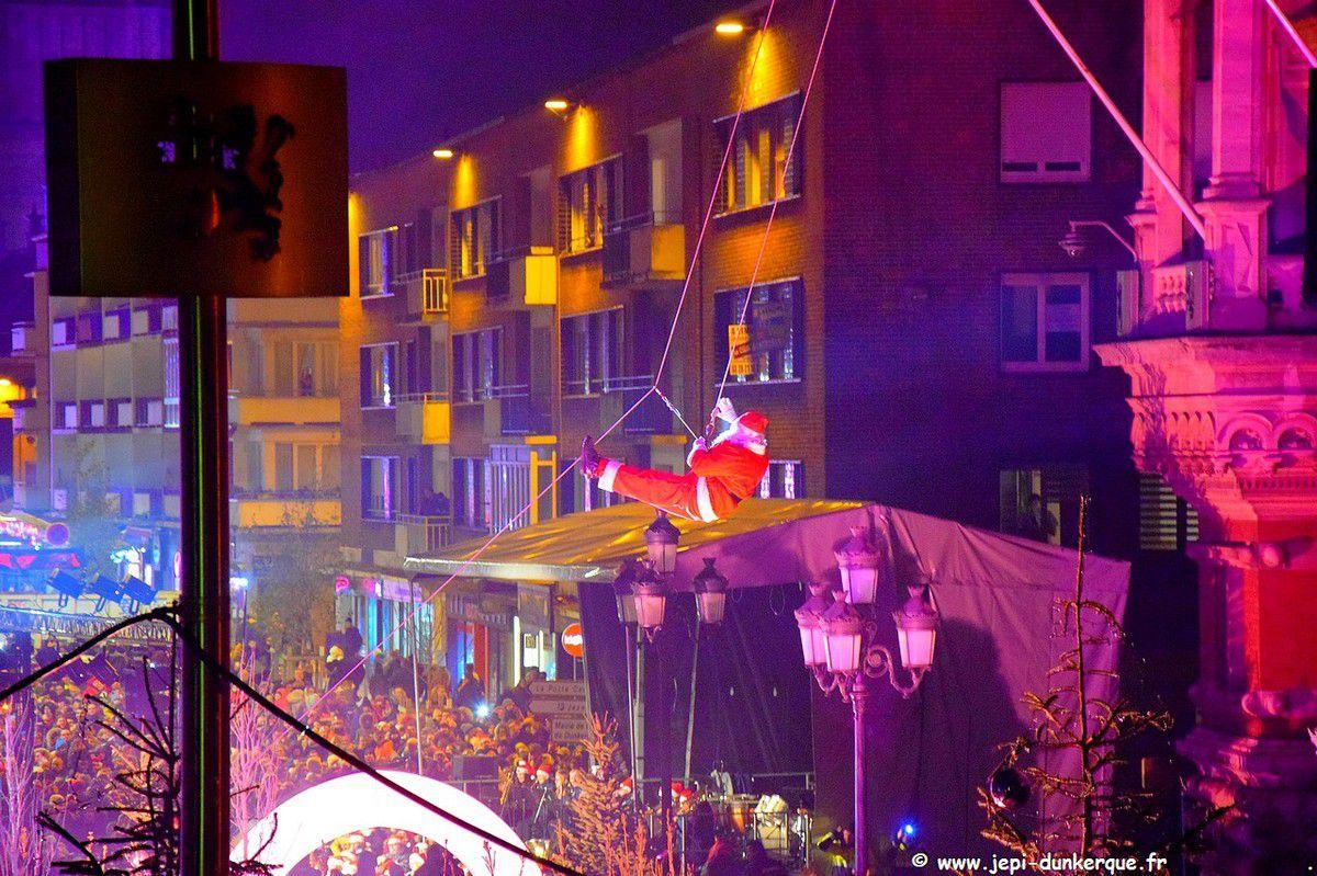 Noël à Dunkerque ( 2 ème partie ) L'arrivée du Père Noël
