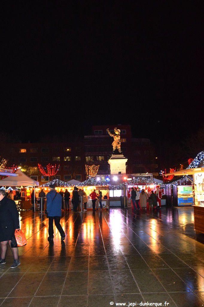 Noël à Dunkerque ( 3 ème partie ) Le marché de Noël .