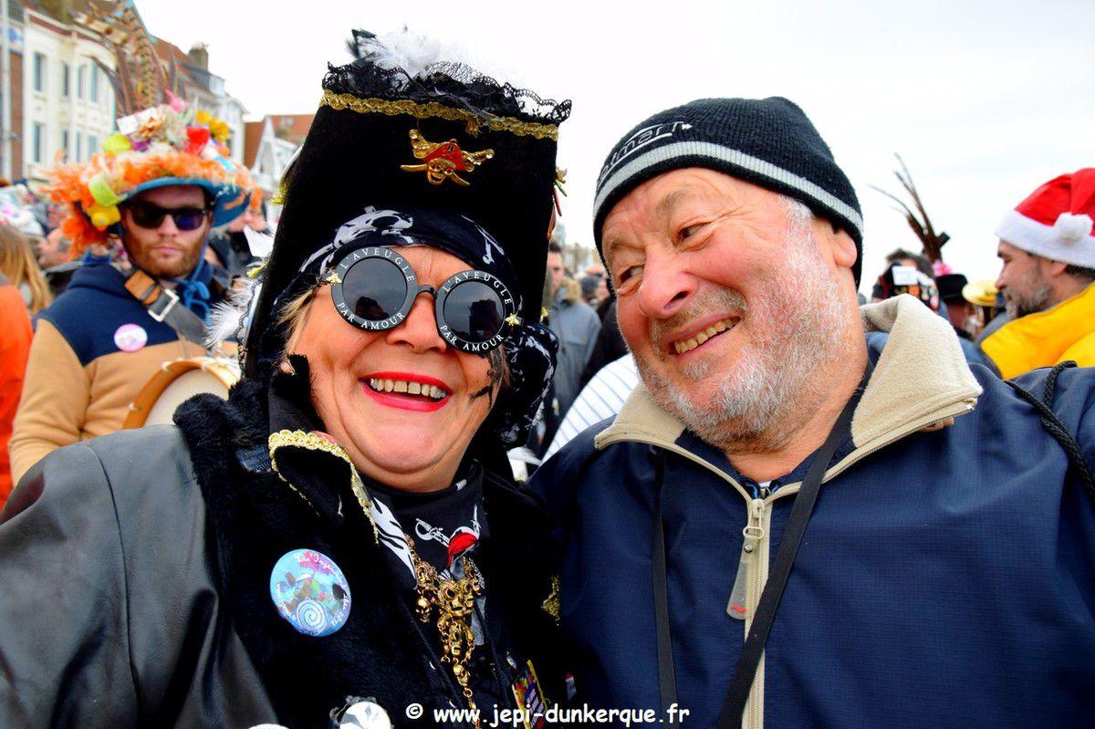 Bain des Givrés - Dunkerque - Malo les Bains 01 Janvier 2019