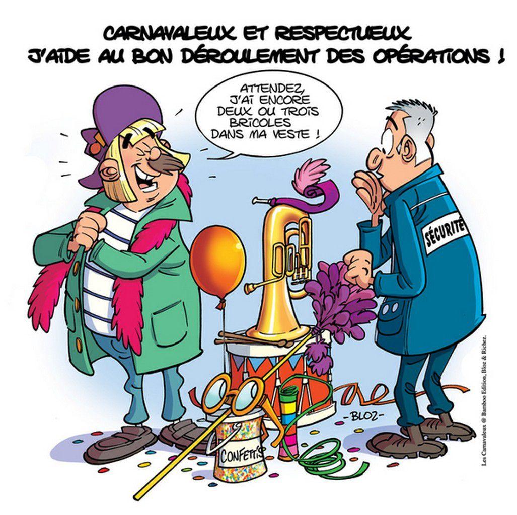 Itinéraires des Bandes du Carnaval de Dunkerque 2019 .