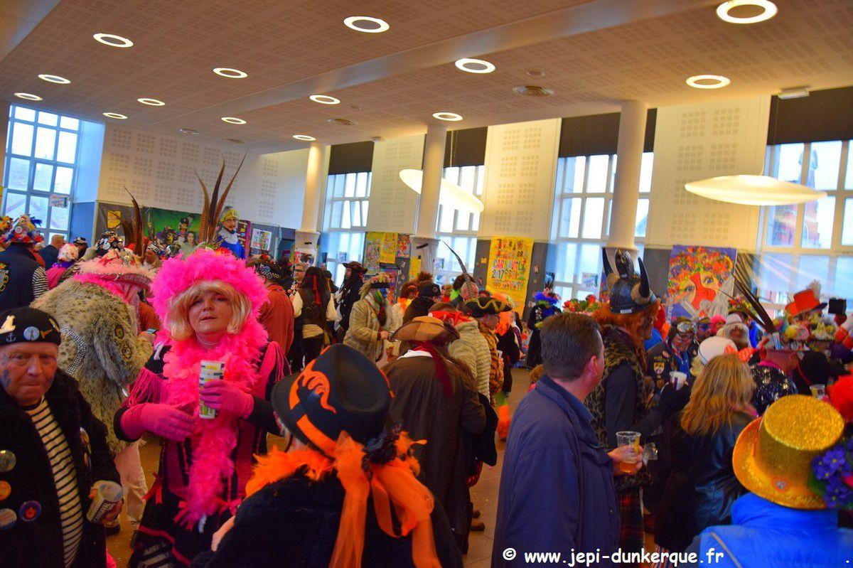 Carnaval de Dunkerque 2019 - Chapelle à la mairie de Rosendaël .