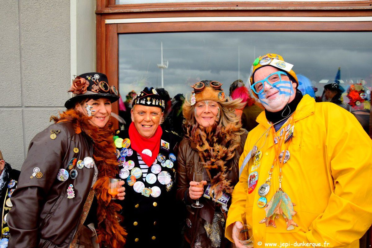 Carnaval de Dunkerque 2019 - Chapelle de l'institut A. Dutreix Malo les Bains