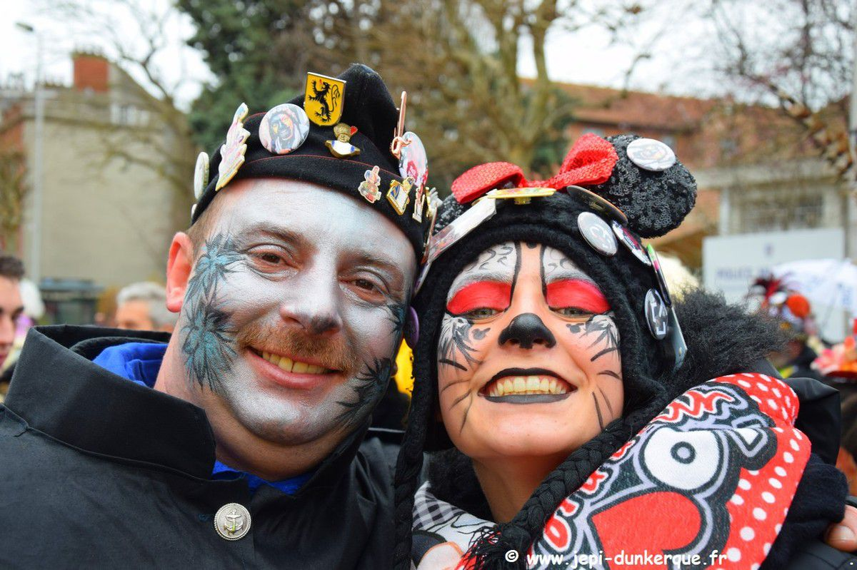 Portraits de Carnavaleux Dunkerque 2019