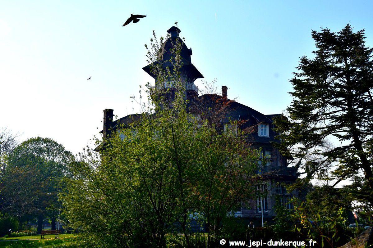 Le parc du Château Coquelle  Rosendaël Avril 2019