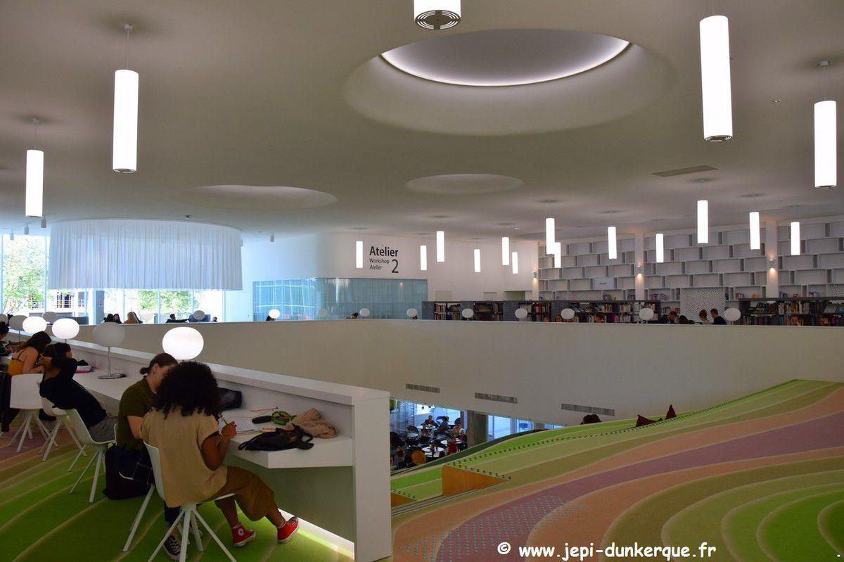 Bibliothèque Dunkerque 2019