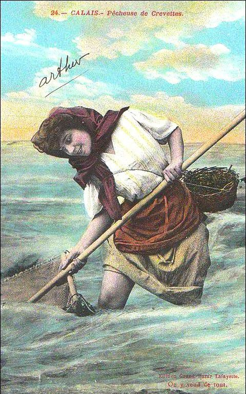 (A19) Cartes Postales Anciennes Calais Le Folklore