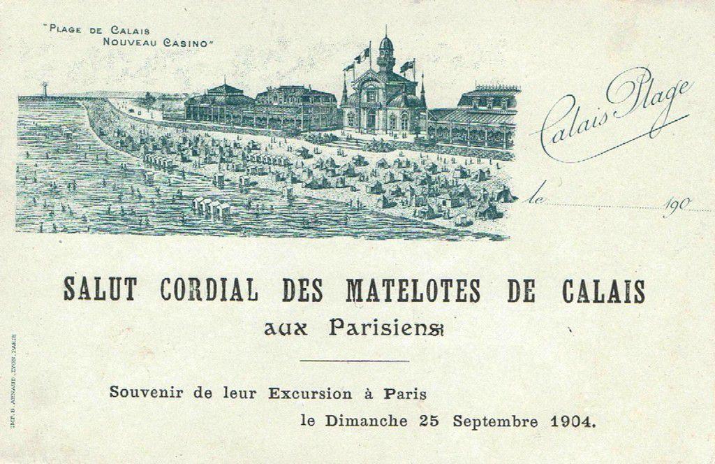 (A22) Cartes Postales Anciennes Calais Divers