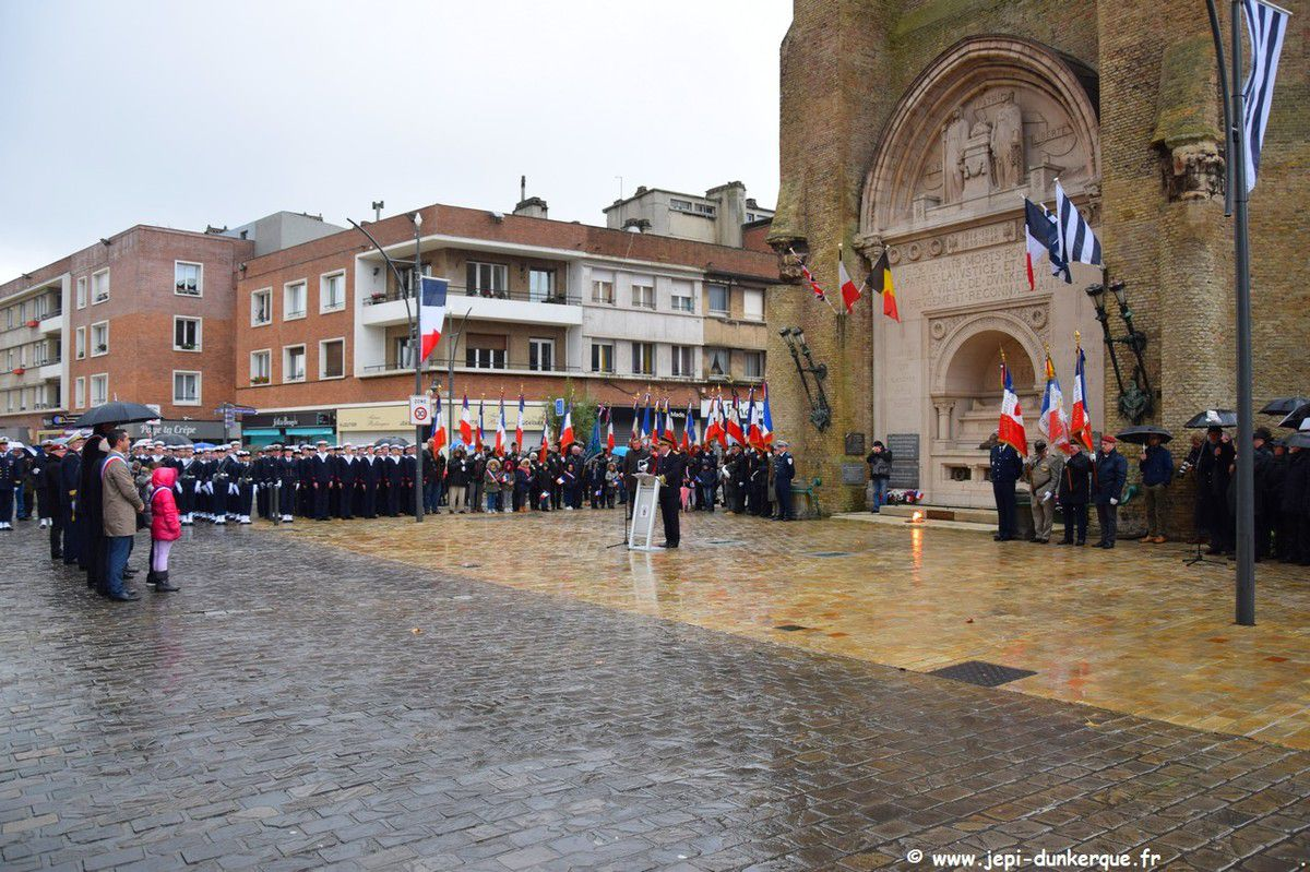 Cérémonie du 11 Novembre Dunkerque 2019