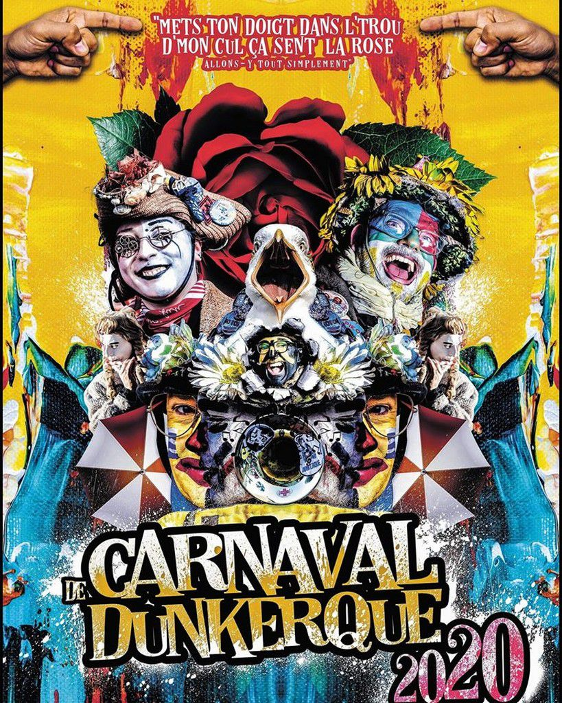 Affiches Carnaval de Dunkerque 2020 (mes affiches)