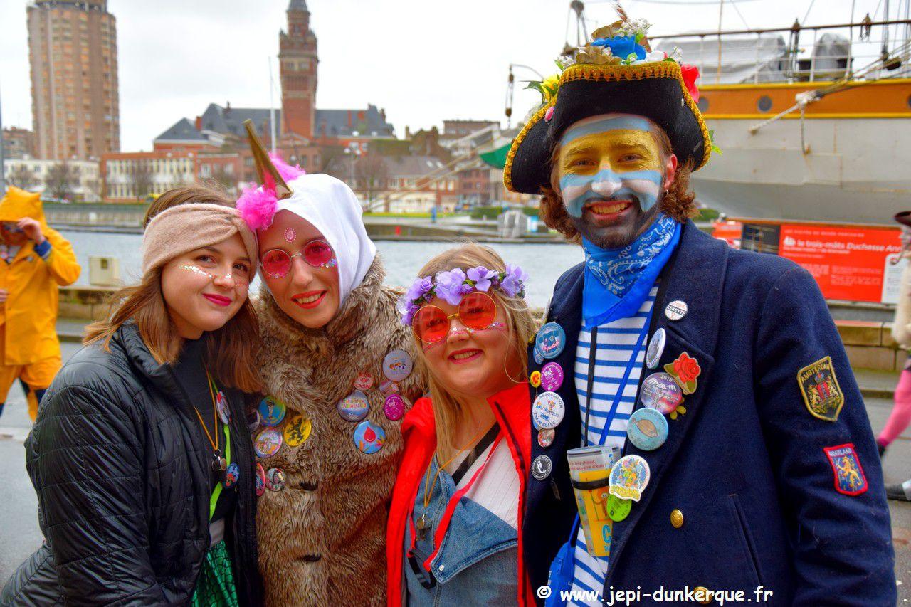 Portraits de Carnavaleux Dunkerque 2020