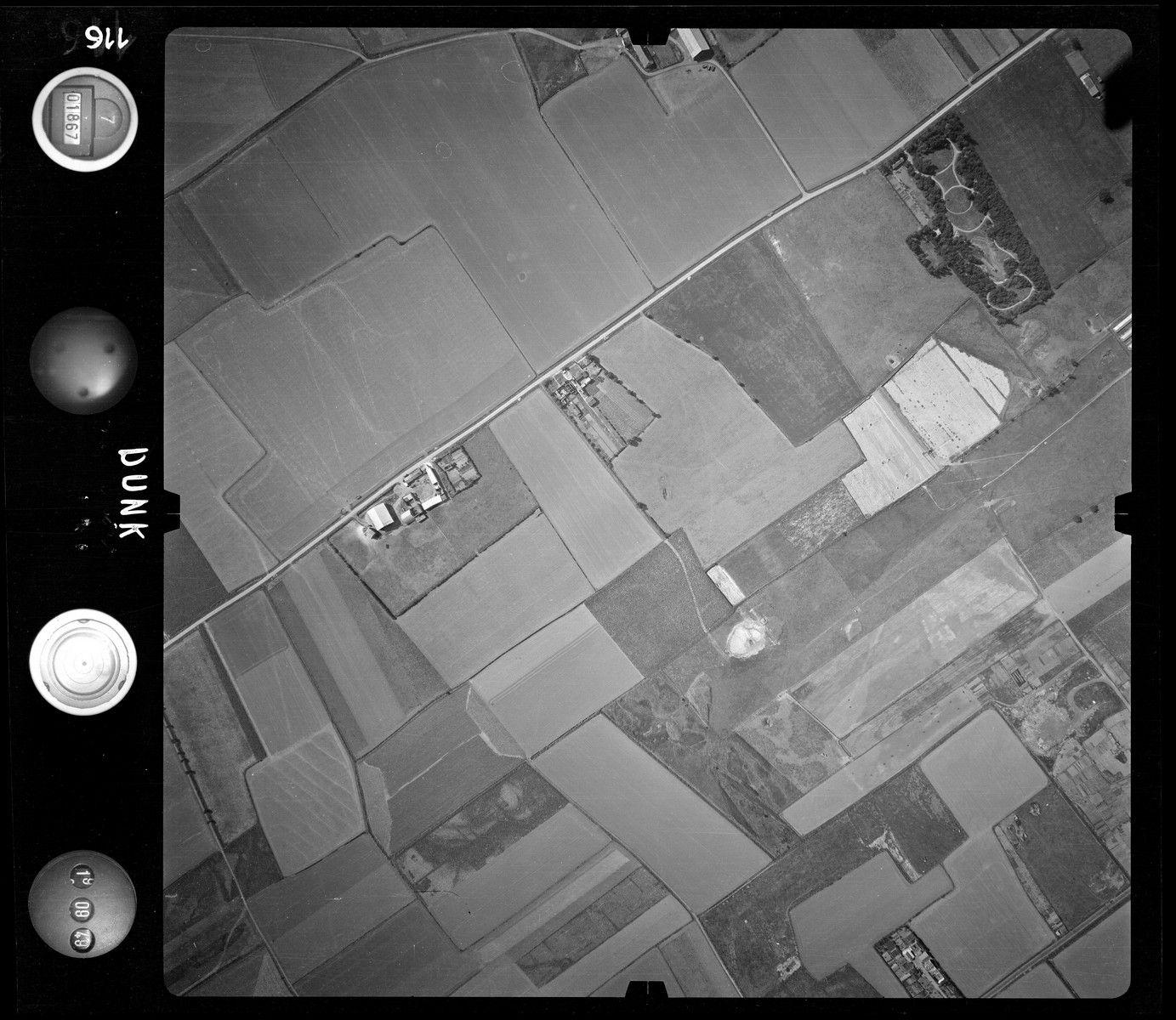 Vues aériennes de Dunkerque en 1949