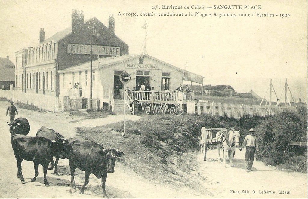 (B 2) Sangatte Cartes Postales Anciennes