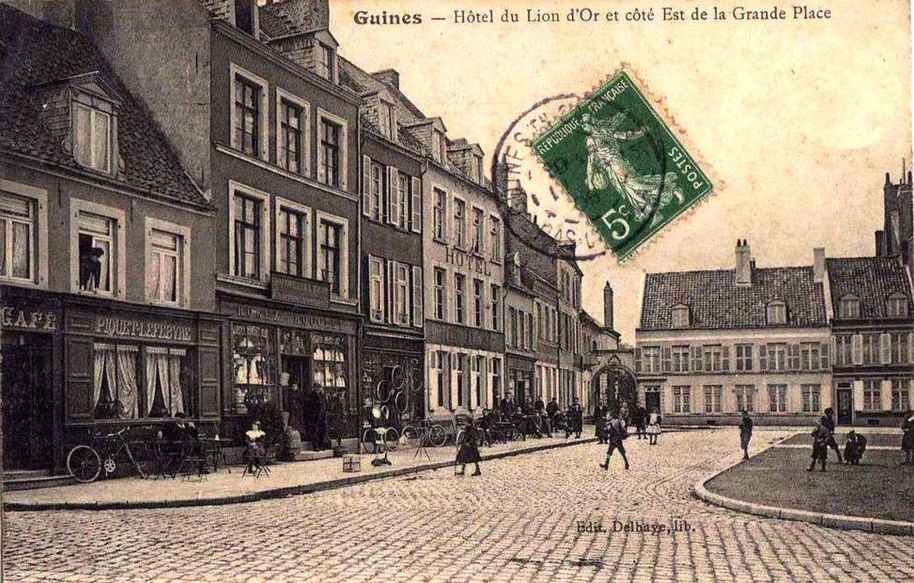 (B 5) Guînes Cartes Postales Anciennes .