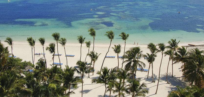 Plage du Meliá Caribe Tropical