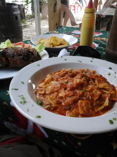 Bon appetit, en direct de Boca Chica!