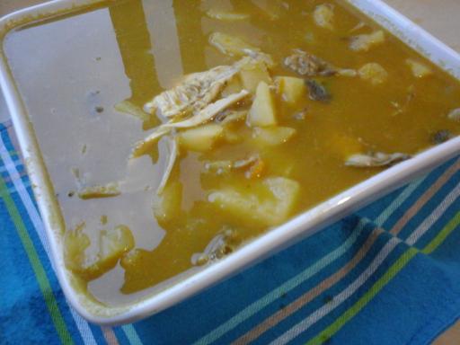 Soupe poisson coco