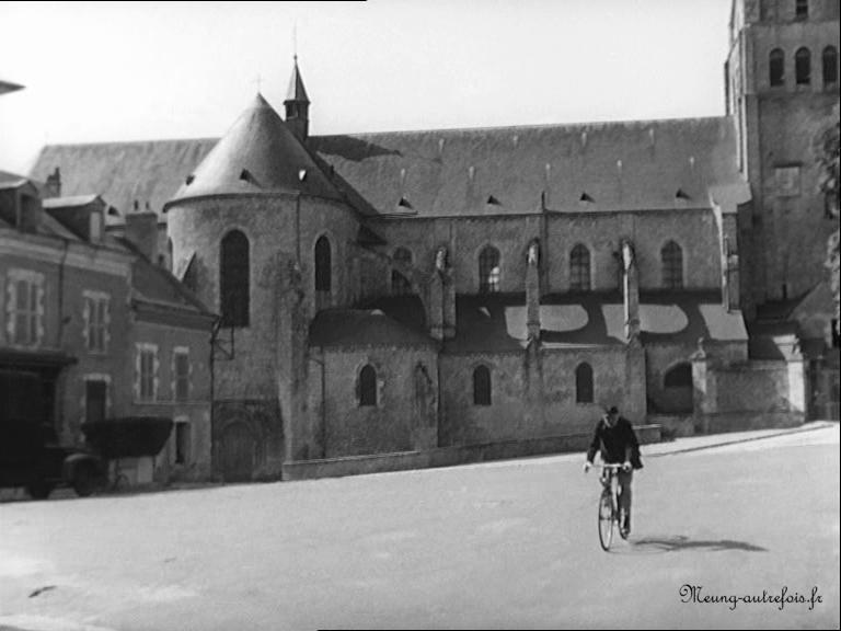 Meung-sur-Loire - La fugue de Mr Perle, film dont une partie a été tourné à Meung, sortie en 1952.