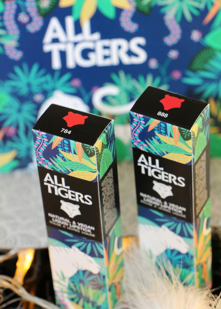 ALL TIGERS - Green Make-Up