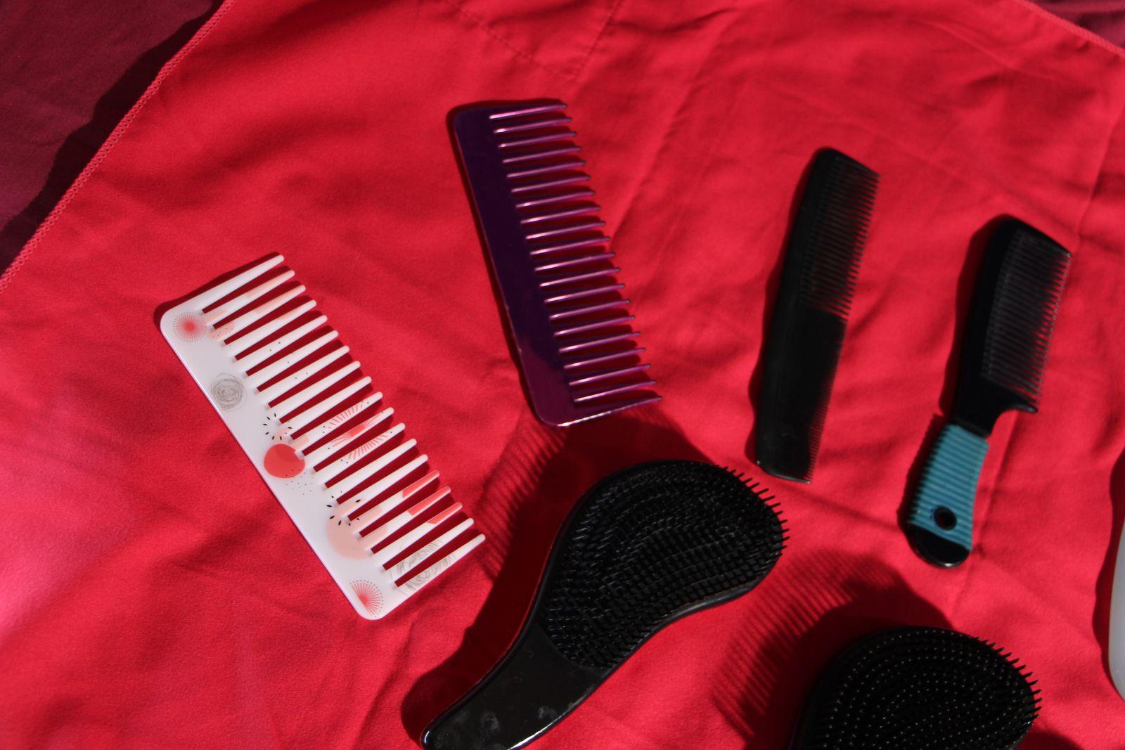 Brosse, Peigne, Type et Usage pour Cheveux Crépus