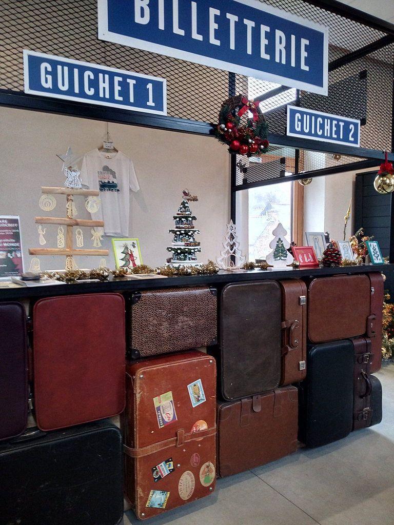 L'exposition de Noël à Guiscriff