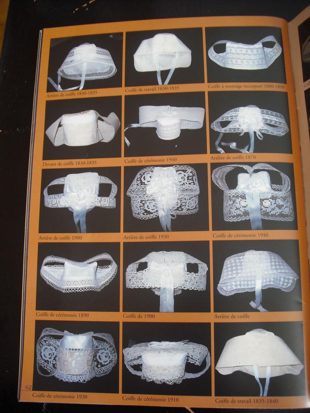 descriptif et montage d'une coiffe bretonne - partie 1