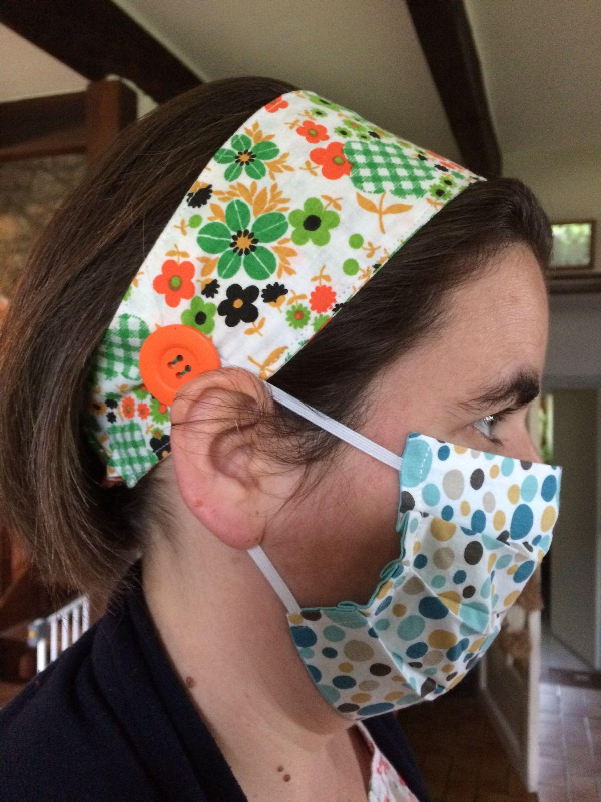 Des bandeaux pour les masques