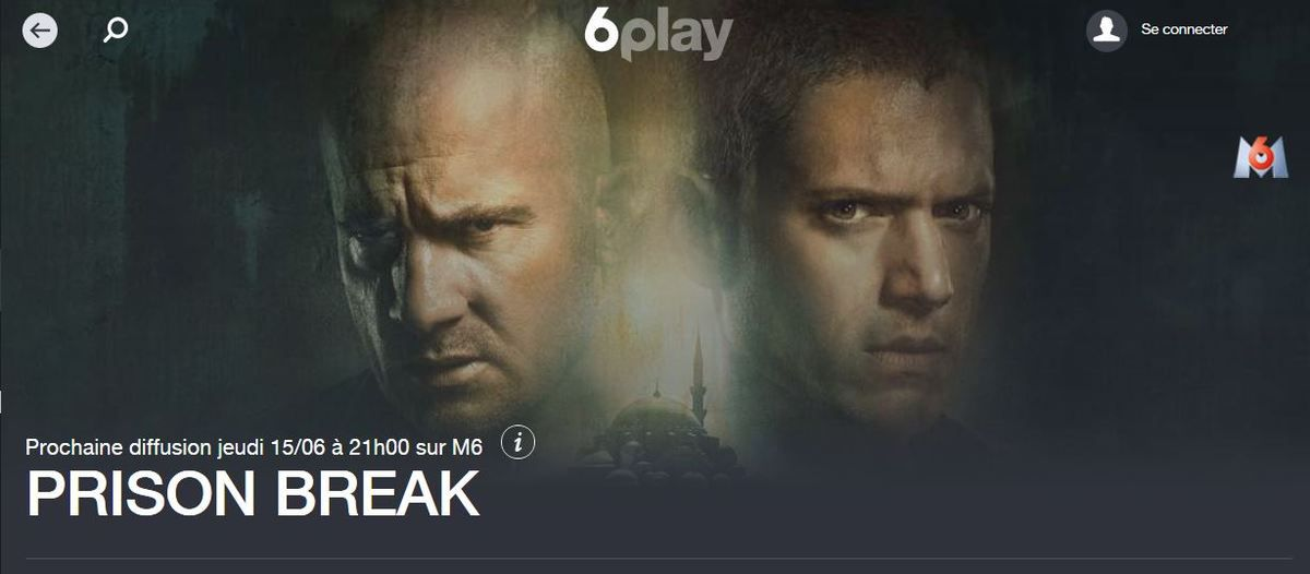 prison break saison 5 en streaming sur 6play m6 2017 9 pisodes womensecret la femme dans. Black Bedroom Furniture Sets. Home Design Ideas