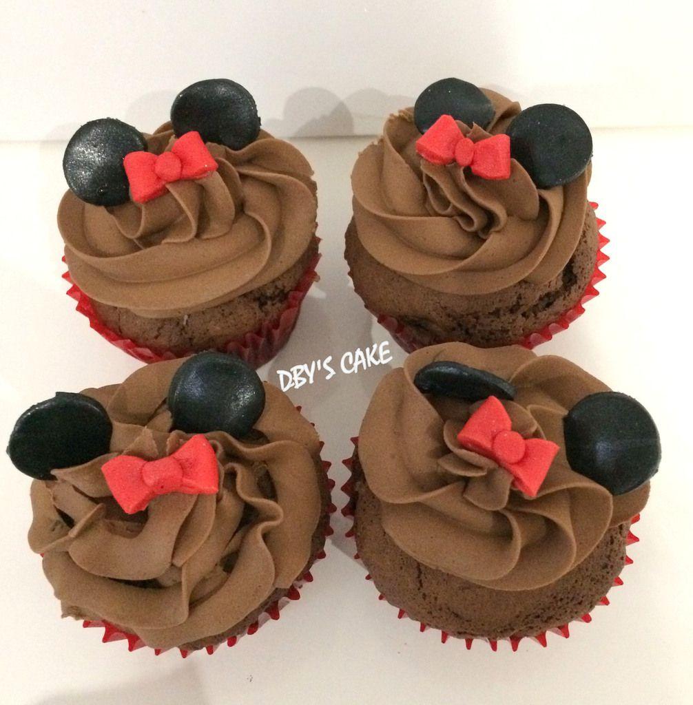 Cupcakes & Cake Pops thème Minnie