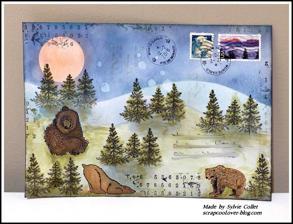 MAIL ART HIVER