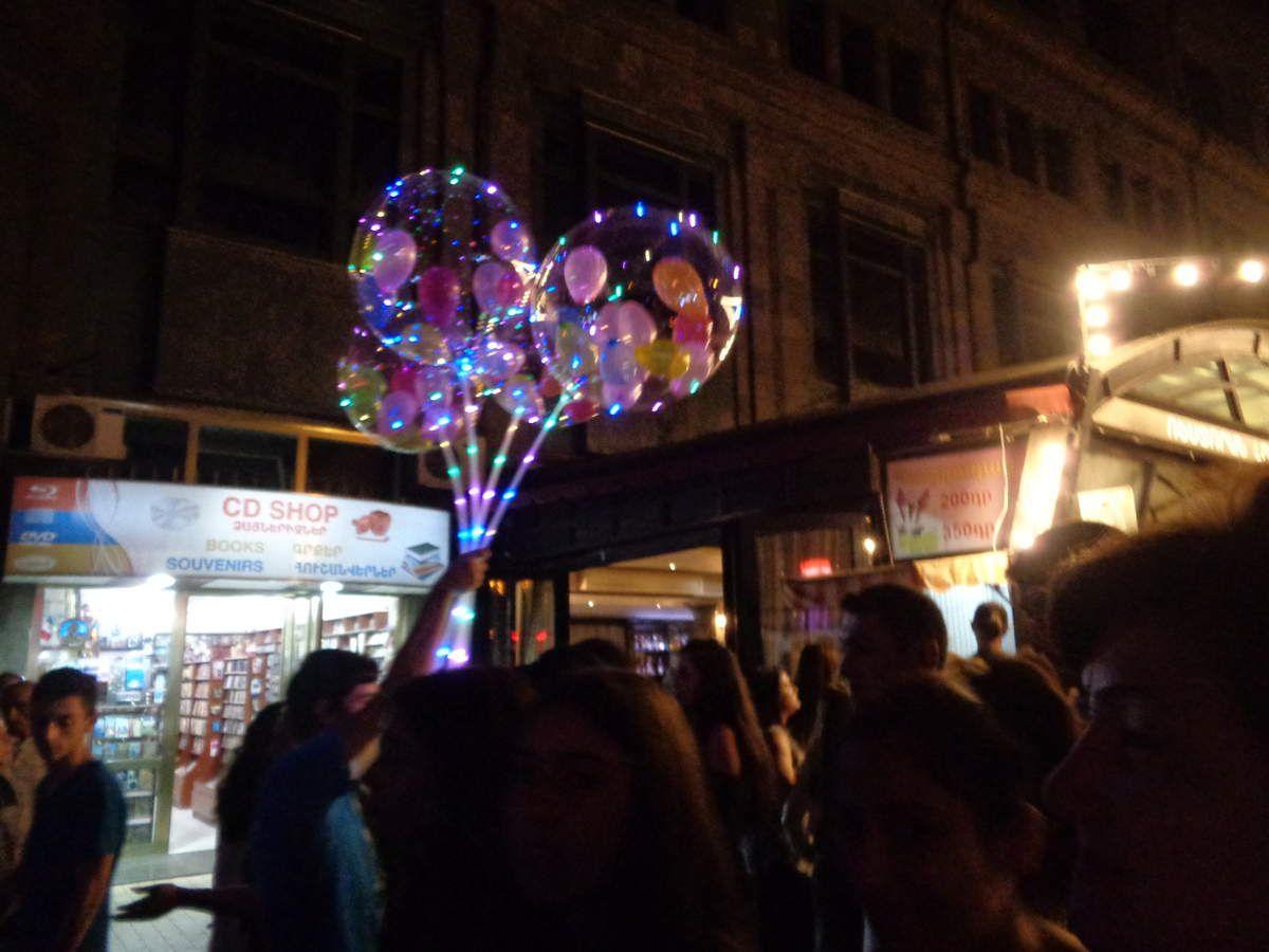 Erévan, fête nationale du 21 Septembre