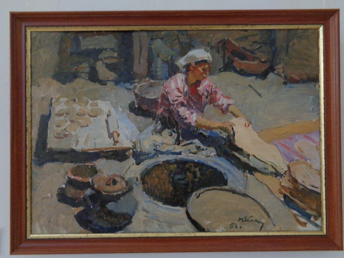 la fabrication du lavash par T. Yablonskaya