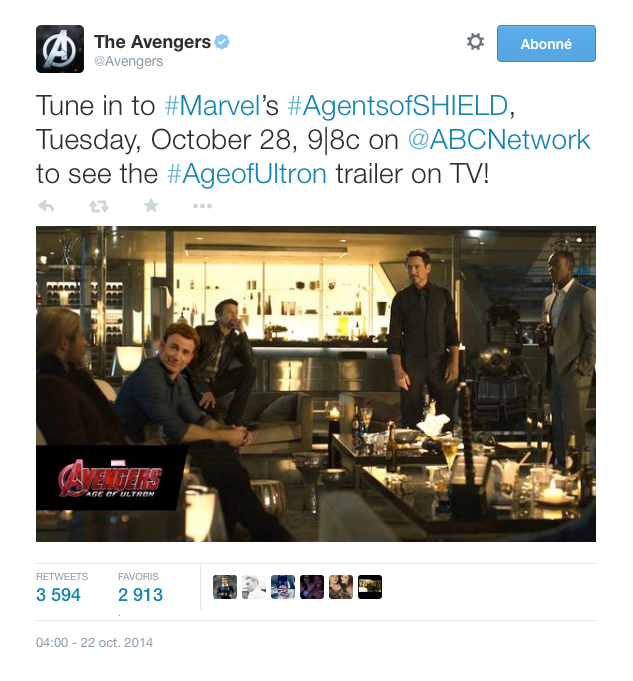 """""""THE AVENGERS 2"""", BANDE-ANNONCE !"""