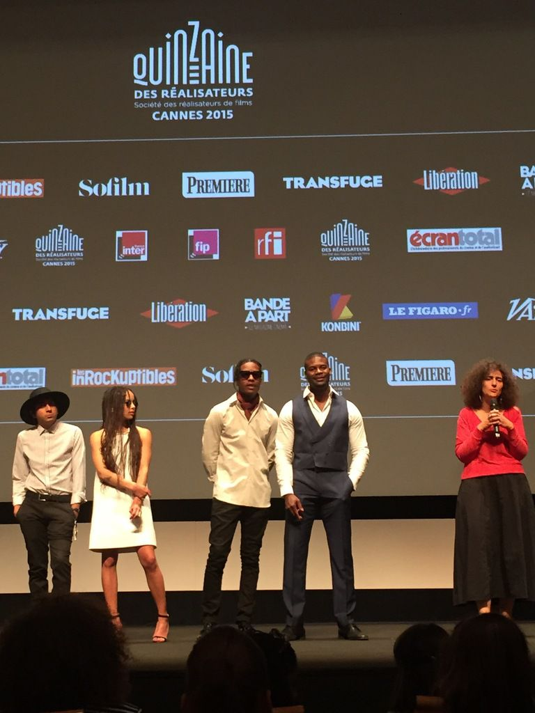 #Cannes2015 #Dope @quinzaine_des_realisateurs @i_am_other @asaprockyofficial_ @zoeisabellakravitz